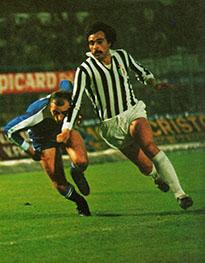 Franco Causio nella Juventus